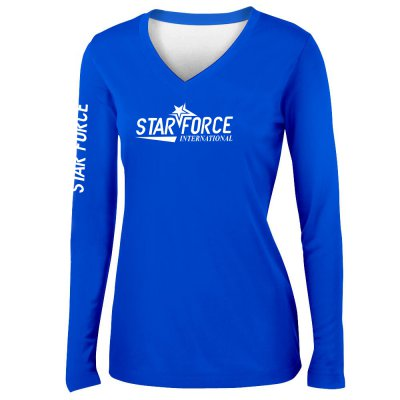 Custom Print High Quality Women Performance Shirts