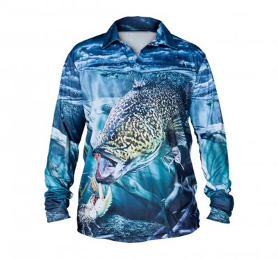 Wholesale Custom Latest Design Long Sleeve Tournament Fishing Polo Shirt