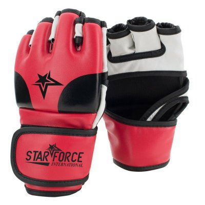 OEM Cowhide Leather Custom Logo MMA Gloves