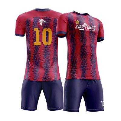 OEM Custom Design Sublimation Printed Soccer Uniform