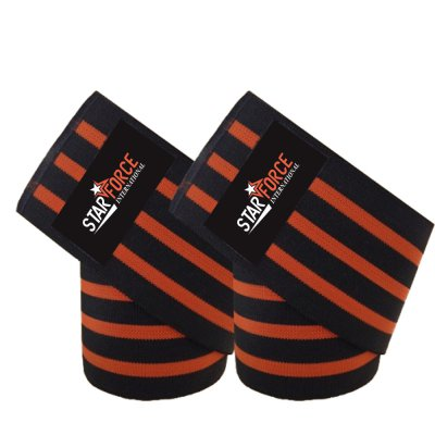 High Quality Compression Powerlifting Adjustable Knee Wrap
