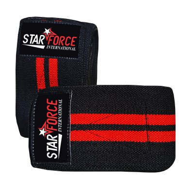 Custom Elastic Heavy Duty Fitness Knee Wraps for Weightlifting