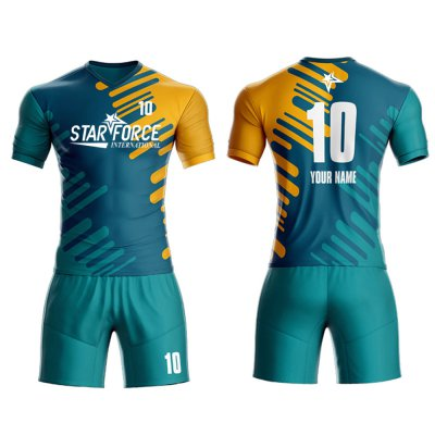 Custom High Quality Soccer Uniform