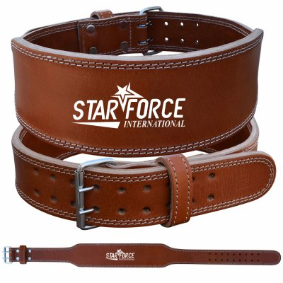 Durable Weight Lifting Genuine Leather Belt