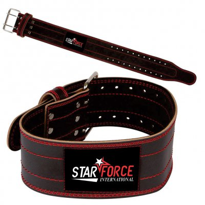 OEM Custom Logo Top Quality Weightlifting Leather Belts