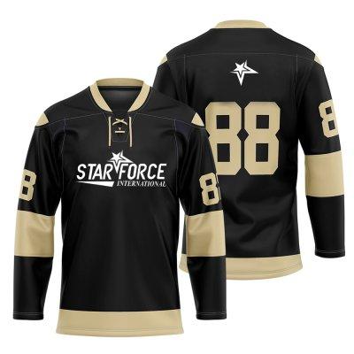 OEM Sublimation Digital Printed Ice Hockey Jersey