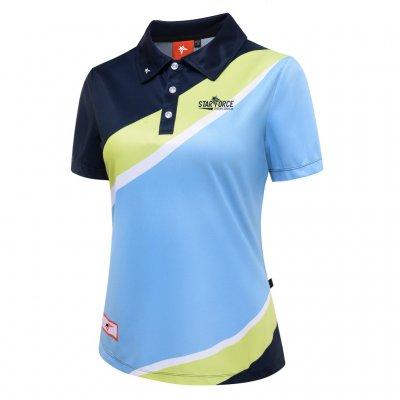 Digital Sublimation Print Custom Polo Shirt