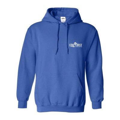 Custom Logo Fleece Plain Hoodie