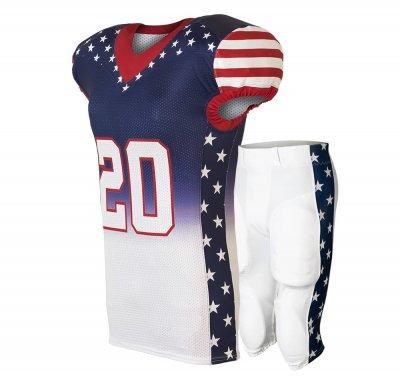 American Football Uniform Football Jersey Wholesale High Quality Custom Sublimated Team Uniform