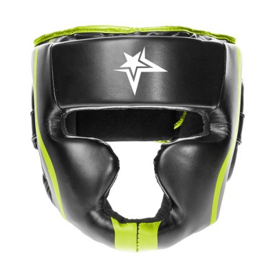 Cowhide Leather Top Quality Head Guards